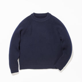 Grand Father Sweater / NAVY