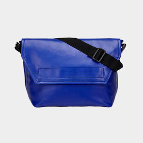 Volleyballer's Messenger Bag (R)/バレーボール パンチングレザー ブルー