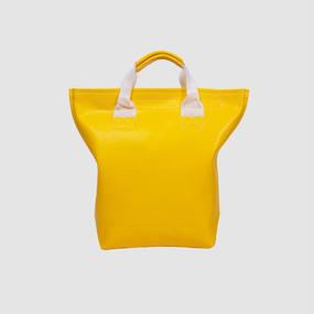 Volleyballer's Tote Bag(R)/バレーボール パンチングレザー イエロー
