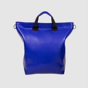 Volleyballer's Tote Bag(B)/バレーボール パンチングレザー ブルー