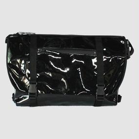 【受注生産アイテム!】Ball's Material Messenger Bag 2016AW/サッカーボールレザー ブラック