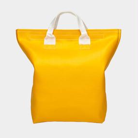 Volleyballer's Tote Bag(B)/バレーボール パンチングレザー イエロー