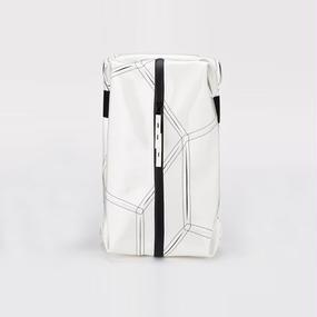 Ball's Material Shoes Case/サッカーボールレザー ホワイト×ブラック