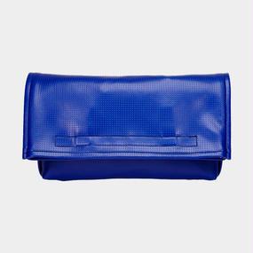 Volleyballer's Clutch Bag(2Way)/バレーボール パンチングレザー ブルー