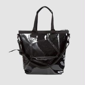 【受注生産アイテム!】Ball's Material 4way BAG/サッカーボールレザー ブラック×ホワイト