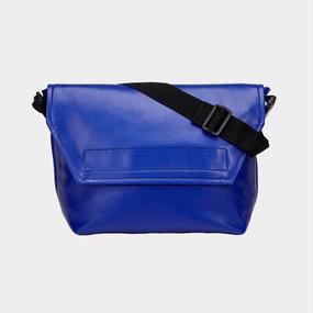 Volleyballer's Messenger Bag (C)/バレーボール パンチングレザー ブルー