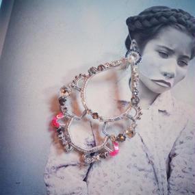 SHINGO MATSUSHITA neonpink&silver