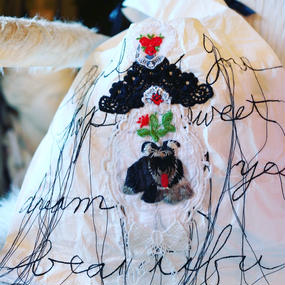 Luxury marche bag small dog