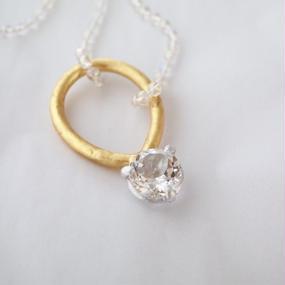 crystal top necklace 『IMAGO』