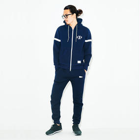 FXP TECH-SWEAT SET-UP NAVY(上下セット)