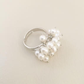 Freshwaterpearl Ring -C