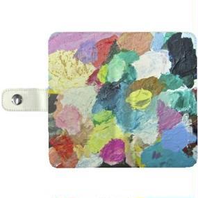 """smartphone case  """"きょうのパレット 001"""""""