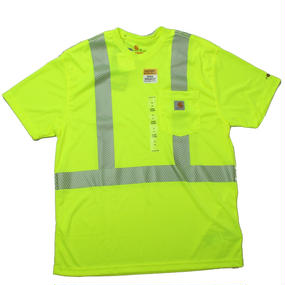 Carhartt カーハート HV Short Sleeve Class 3 Tee Yellow- size M -