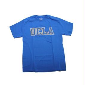 UCLA CHAMPION TEE  BLUE×YELLOW  -SIZE M -