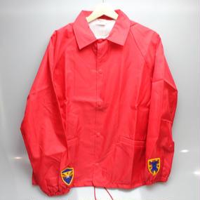 INFIELDER DESIGN   Cardinal coach jacket   RED type2 - size M -