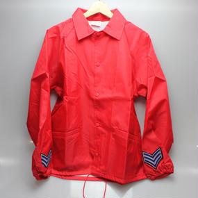 INFIELDER DESIGN   Cardinal coach jacket   RED  type 3 - size M -