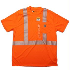 Carhartt カーハート HV Short Sleeve Class 3 Tee Orange- size M -