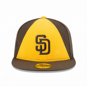 59FIFTY MLB On-Field Game San Diego Padres -BRO×YEL-