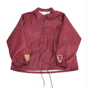 INFIELDER DESIGN   Cardinal coach jacket   WINE- size XL -