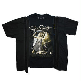 Rebuild By Needles (リビルドバイニードルズ) 7 Cut Tee ROCK WIDE ① - onesize -