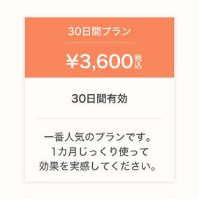 #Likes ご利用サービス料(30日間)