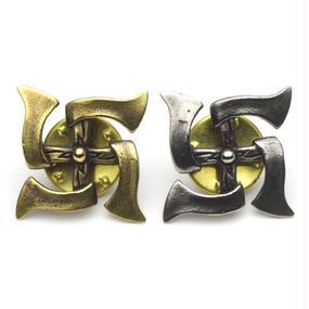 "HPS-8-B,WB  ""HATCHET Swastika"" Pins"