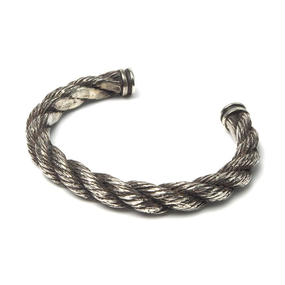 """Silver925 HB-1-S """"ROPE"""" Bangle"""