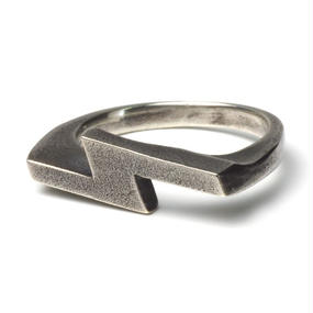 """Silver925 HR-2-S """"S"""" Ring"""