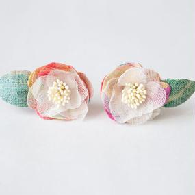 Camellia Pierced Earrings S - P-Cam-S
