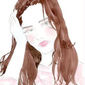 Supreme Pink / FINE ART PRINT A4(NO FRAME)