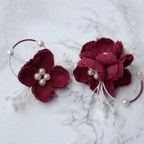 rakka ryuusui colour  - CHERRY RED / EARRING