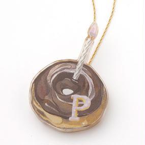 【PACHI PACHI FACTORY×High-Me TOKYO】Memorial donut Necklace《Choco》