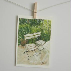 postcard / ふたつの椅子