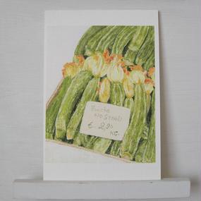 postcard / zucchini