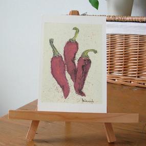 postcard / red pepper