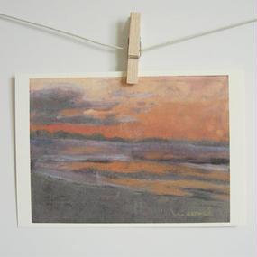 postcard / 明け方の海
