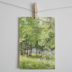 postcard / 静かな風の流れる部屋
