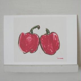 postcard / パプリカ レッド