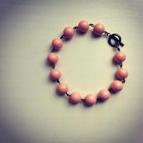 ジョイント用ブレスレット ピンク