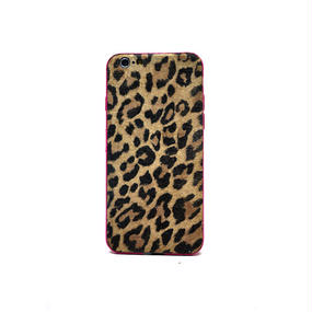 Leather JKT for iPhone6/leopard_etoupe