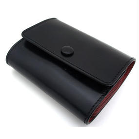 Honeycomb Credit & points card case/Black&Red