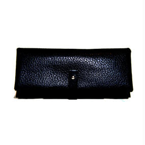Shrink long wallet/Black