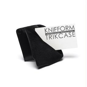 knifform for business card /ネイビー クニフォルム 名刺入れ