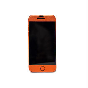 Leather JKT for iPhone6/che_orange