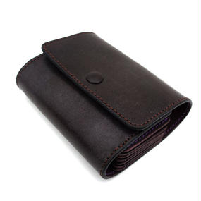 Honeycomb Credit & points card case/Brown&:Purple