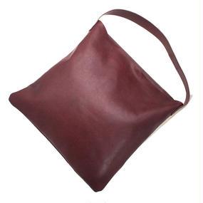 Shoulder Tote Bag/Dark brown