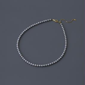 【necklace】akoya gray baby pearl