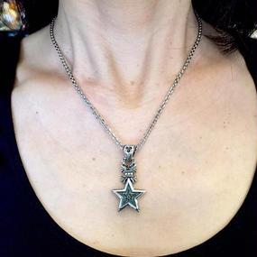 [Artemis Classic-pendant]フローラルスターチャーム
