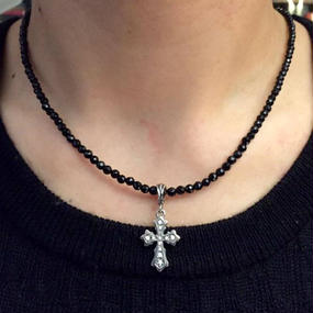 [Artemis Classic-pendant]カテドラルクロスチャーム