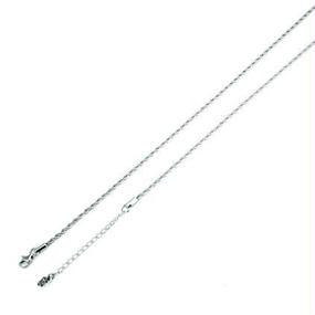 [チェーン-cn]45-50cm ステンレスフレンチロープチェーン(2.3mm)(Artemis Classic)